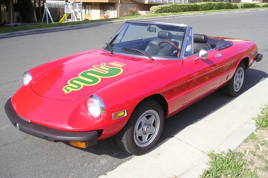 No Reserve: 1976 Alfa Romeo Spider