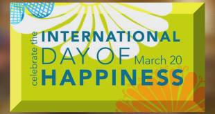 International Day of Happiness, March 20