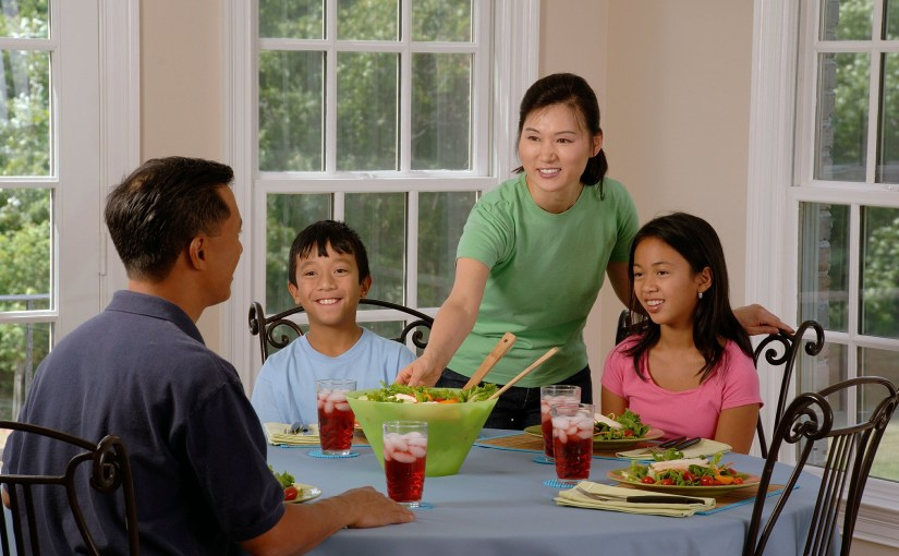 Does your family eat dinner together?