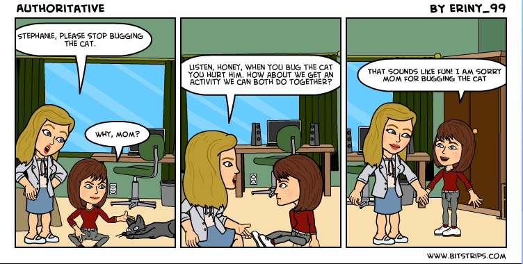 Image result for authoritative parenting comic