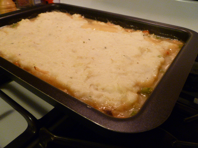 Turkey Shepherd's Pie, or What to do With Those Thanksgiving Leftovers   (3/3)