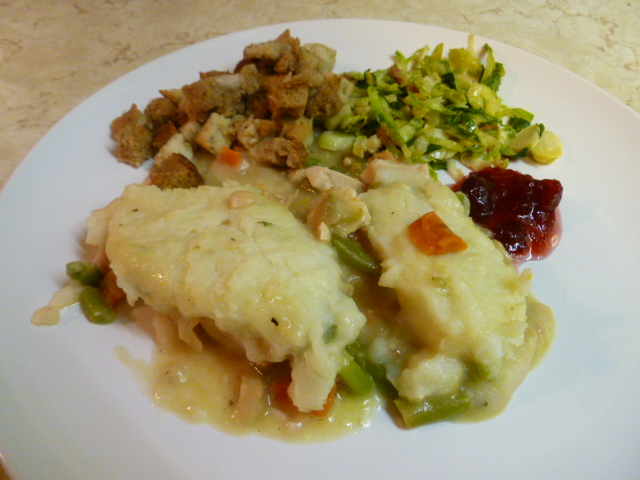 Turkey Shepherd's Pie, or What to do With Those Thanksgiving Leftovers   (1/3)