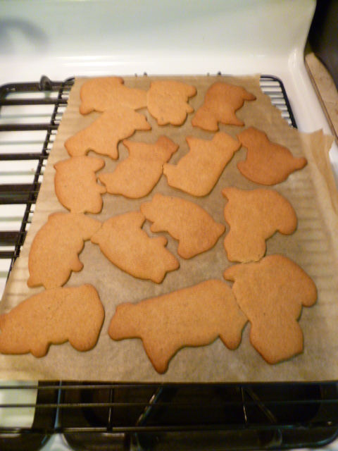My Christmas Post: Traditional Gingerbread Cookies   (5/5)