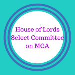 House of Lords Select Committee on MCA