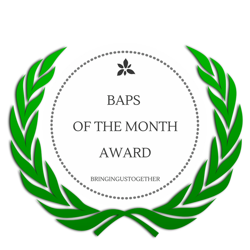 BAPS of the Month - January winner!