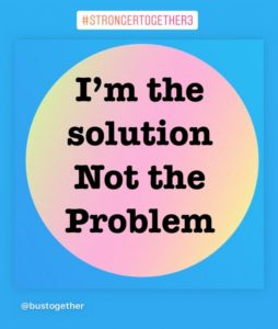 See me as the solution not the problem