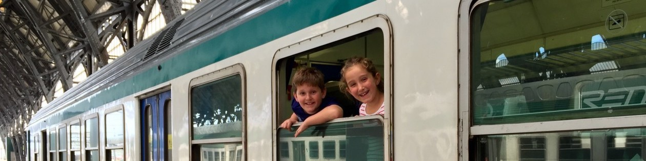 Learn Travel, kids train, train Europe, family vacation europe