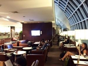Thai Airways, Thai Royal Silk Lounge, Bangkok Suvarnabhumi International Airport