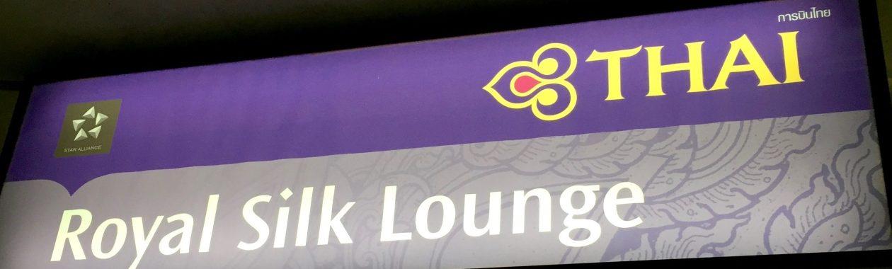Bangkok, Thai Airways Royal Silk Lounge, Bangkok Suvarnabhumi International Airport