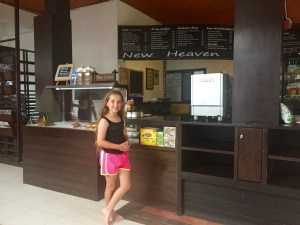 Coffee shop review Koh Tao, New Heaven Cafe Koh Tao, Favorite Coffee Shop Koh Tao