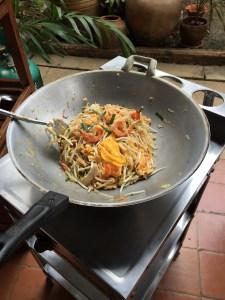 Pad Thai, Thai House, Bangkok, Thailand Family Travel