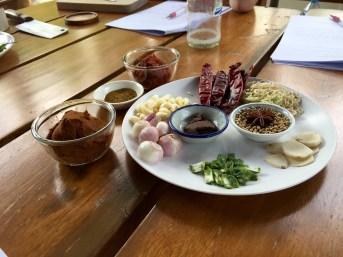 Thai Food Ingredients, Thai House, Bangkok
