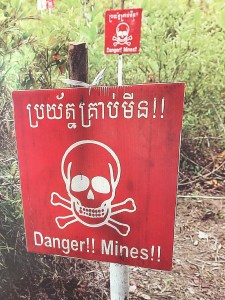 Landmines, Landmine museum, Cambodia