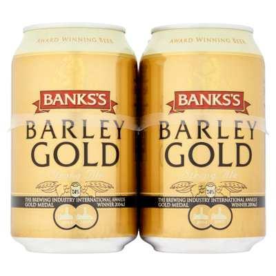 Banks's Barley Gold Cans