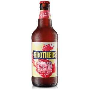Brothers Rhubarb & Custard Flavoured Cider