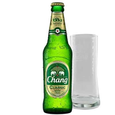 Chang Beer & Free Glass