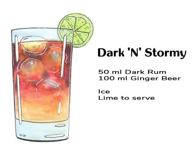 Dark 'N' Stormy Recipe Breakdown