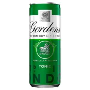 Gordon's Gin & Tonic Pre-Mixed Cocktail Cans
