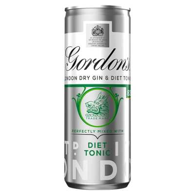 Gordon's Gin & Slimline Tonic Pre-Mixed Cocktail Can