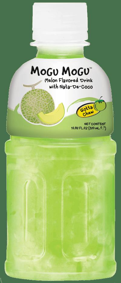 Mogu Mogu Melon flavoured drink with nata de coco bits