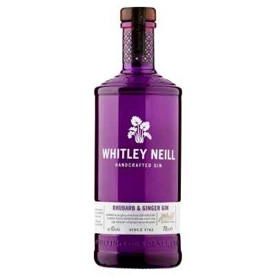 Whitley Neill Rhubarb & Ginger Gin 70cl Bottle