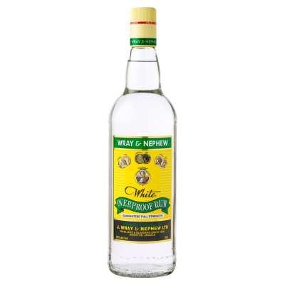 Wray & Nephew Overproof Rum 1 Litre Bottle
