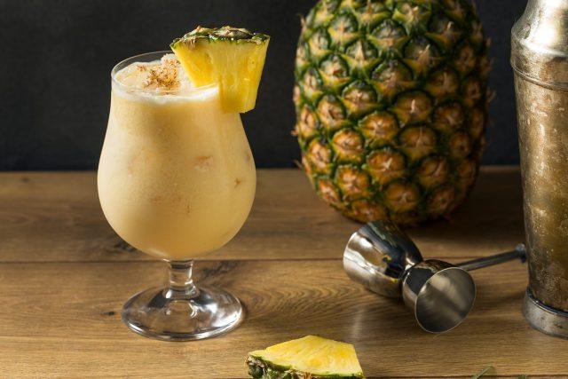Painkiller Rum Cocktail