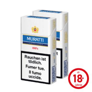 Muratti Ambassador Blue 100's Box Zigaretten
