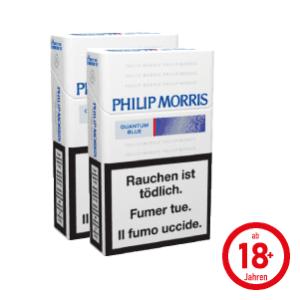 Philip Morris Quantum Blue Box Zigaretten