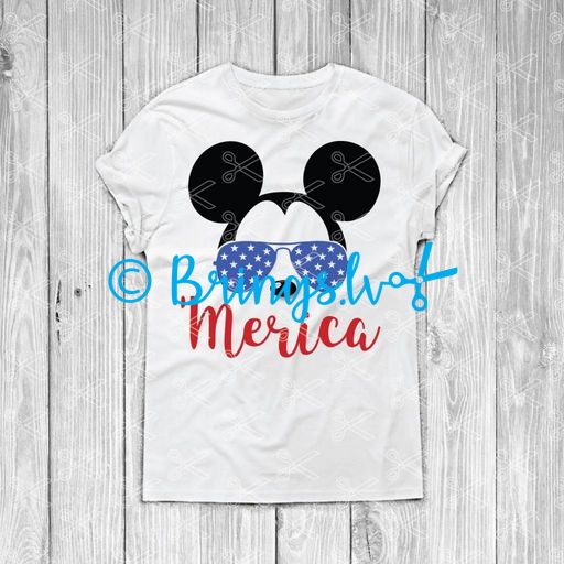Mickey Mouse svg sunglasses