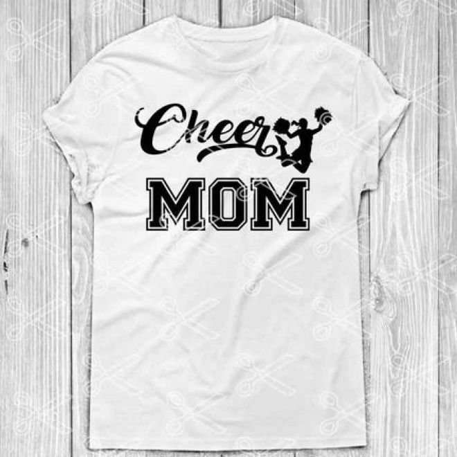 Cheer Mom Svg Dxf Png Cut Files Cheer Svg Cheerleader Svg