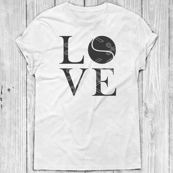 LOVE Tennis SVG Files