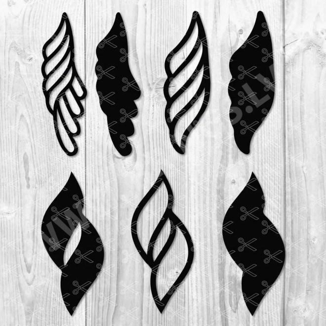 Earrings SVG Cut File