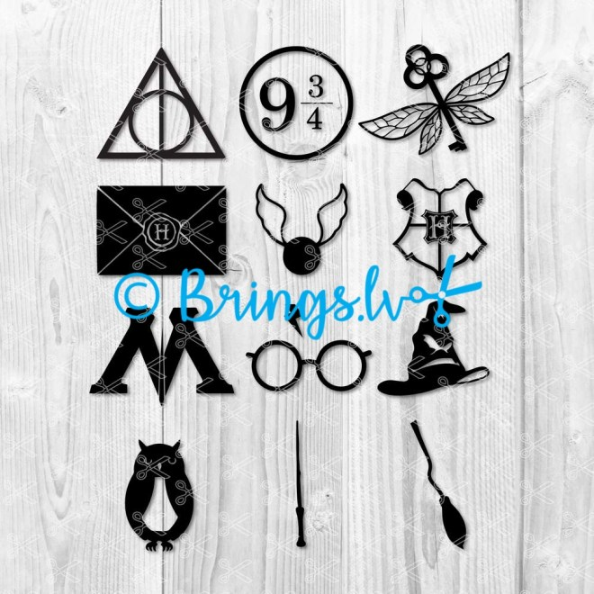 Harry Potter SVG BUNDLE