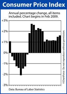 Consumer Price Index Feb 2009 - Jan 2011