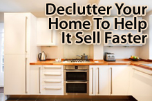 Declutter your home to help it sell faster