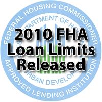2010 FHA Loan Limits