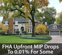 FHA MIP schedule