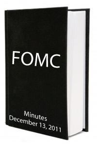 FOMC Minutes December 2011
