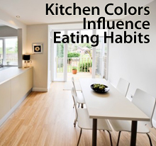 Kitchen colors influence eating habits