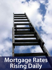 Mortgage rates rising