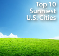 Sunniest US Cities
