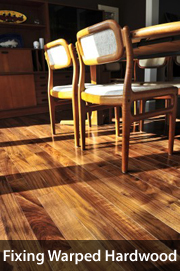 How to fix water-damaged flooring