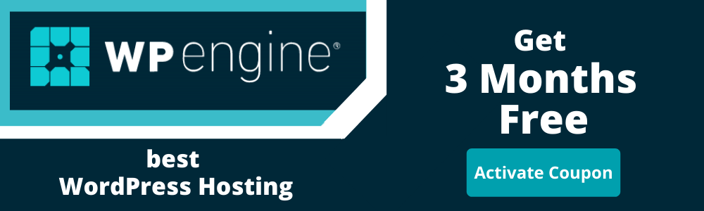 WP Engine Coupon Code Get 3 Months Free