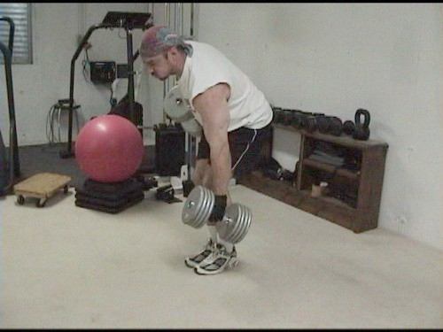 Alt Dumbell Rows 3