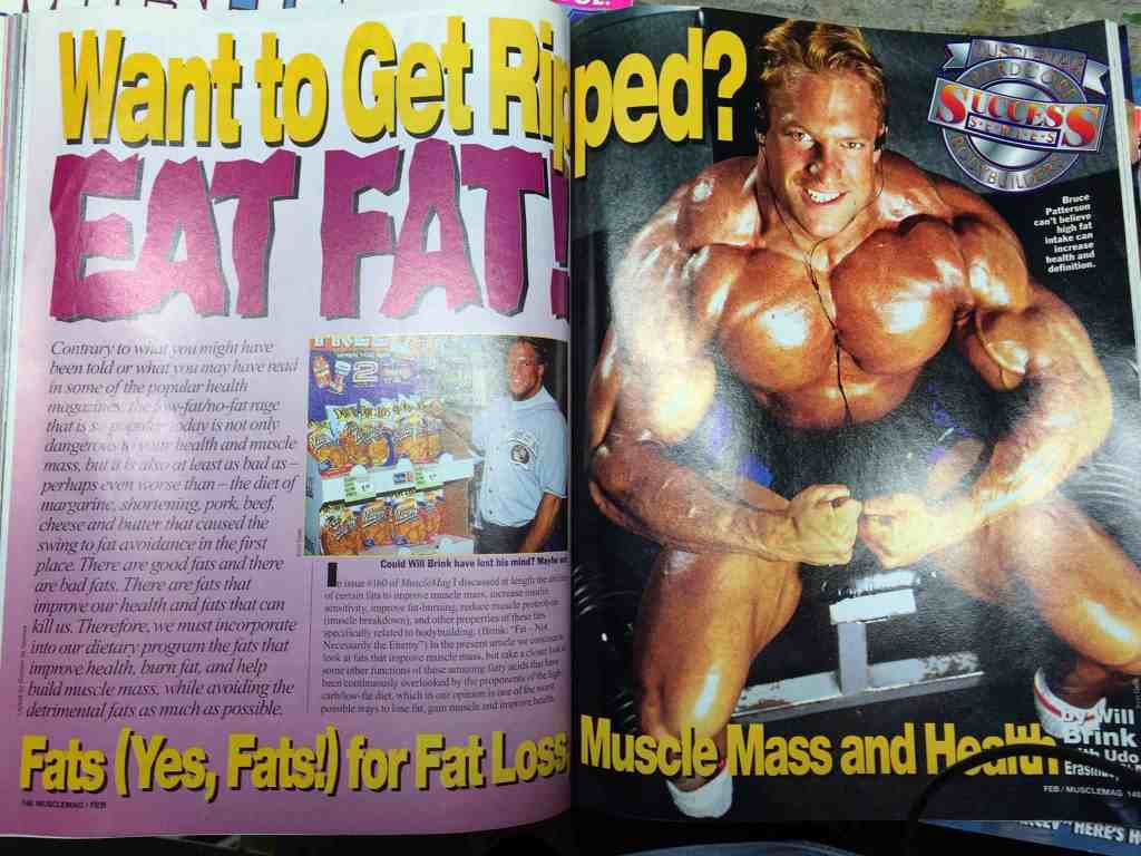 Article in Muscle Mag