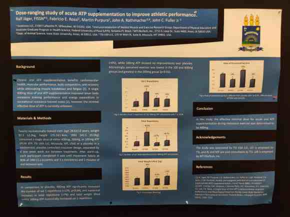 Poster session on ATP study