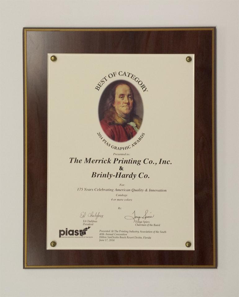 PIAS Award 1