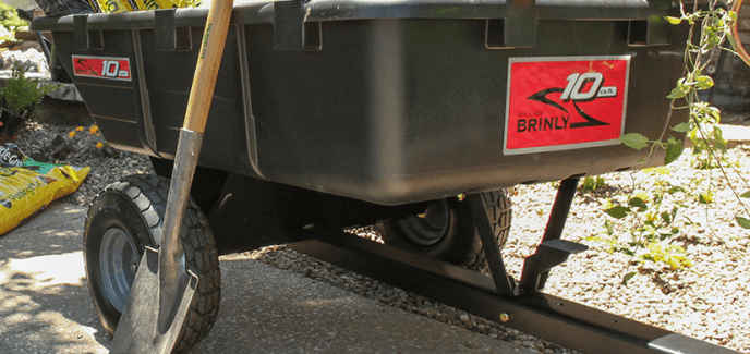 Brinly Poly Cart