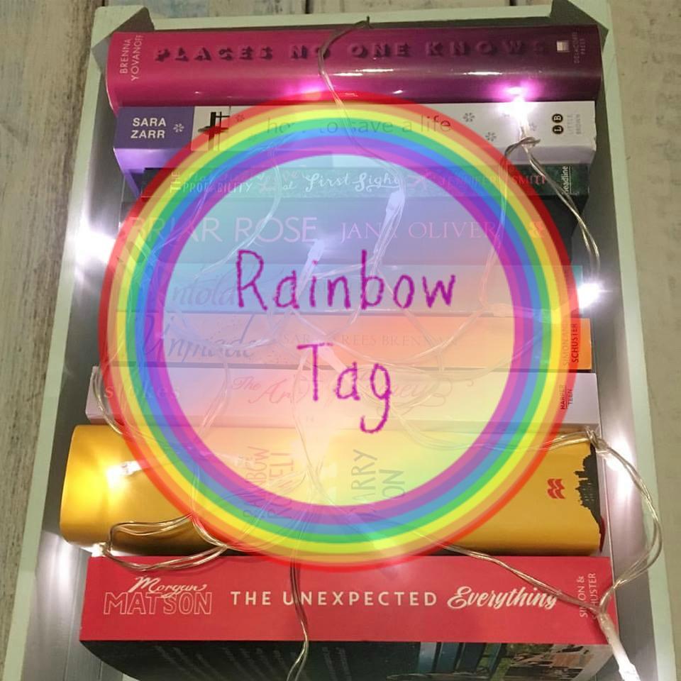 rainbow tag cover